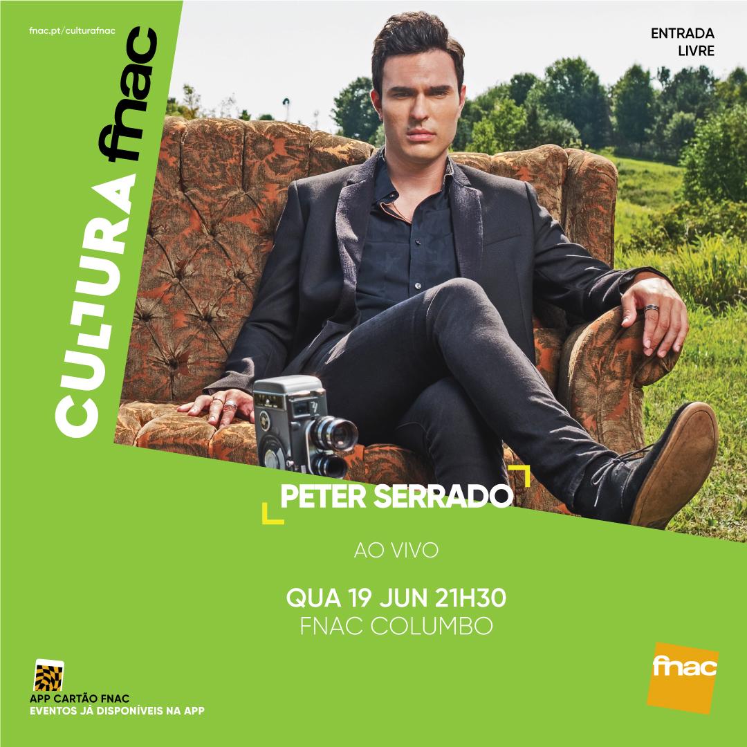 Peter Serrado at fnac - Colombo
