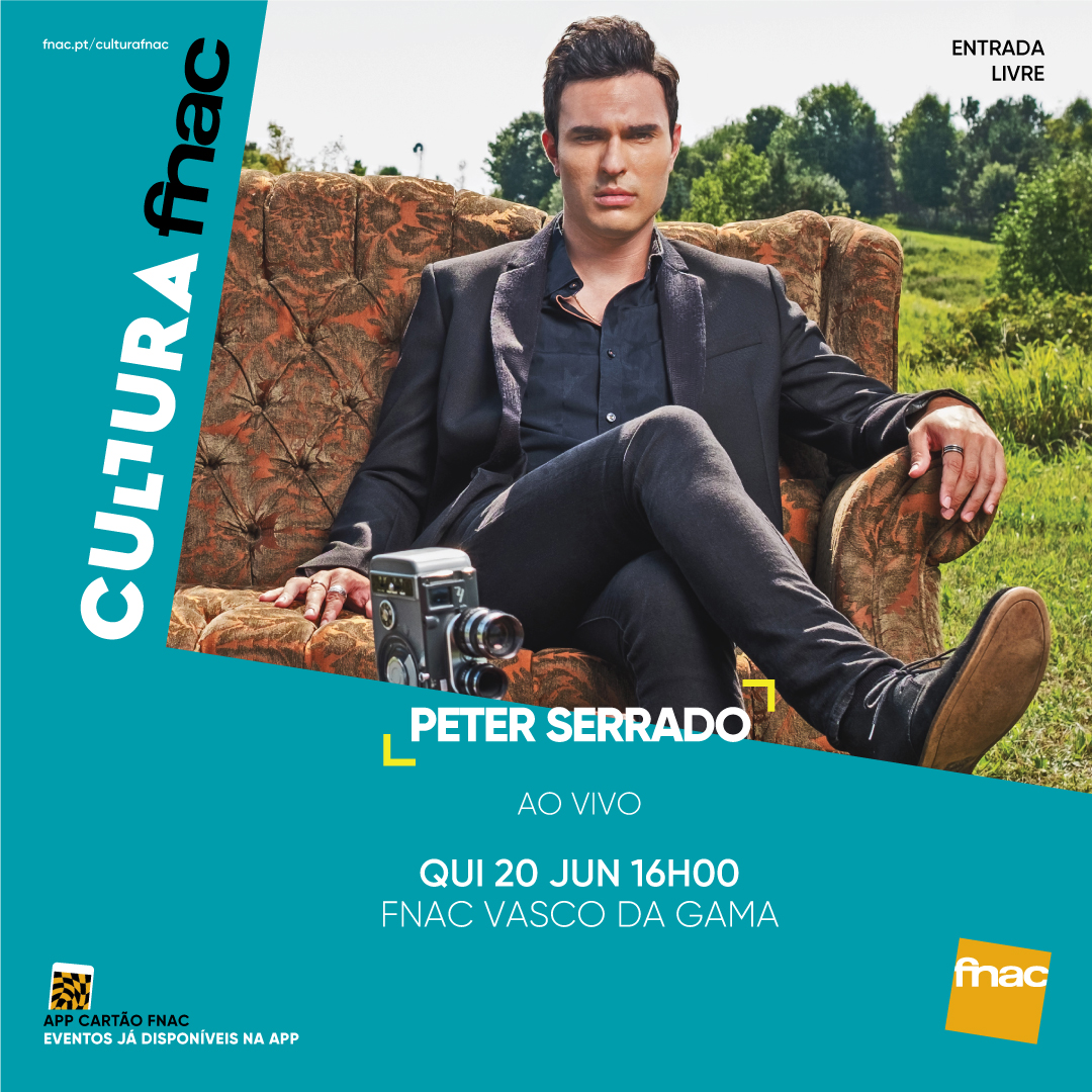 Peter Serrado at fnac - Vasco Da Gama