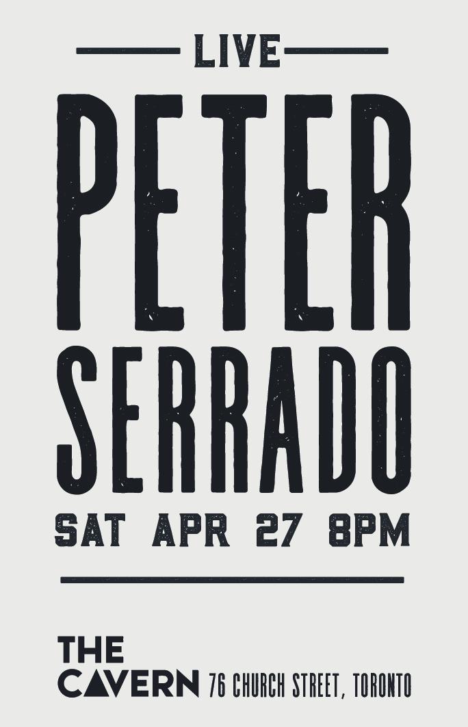 Peter Serrado Poster