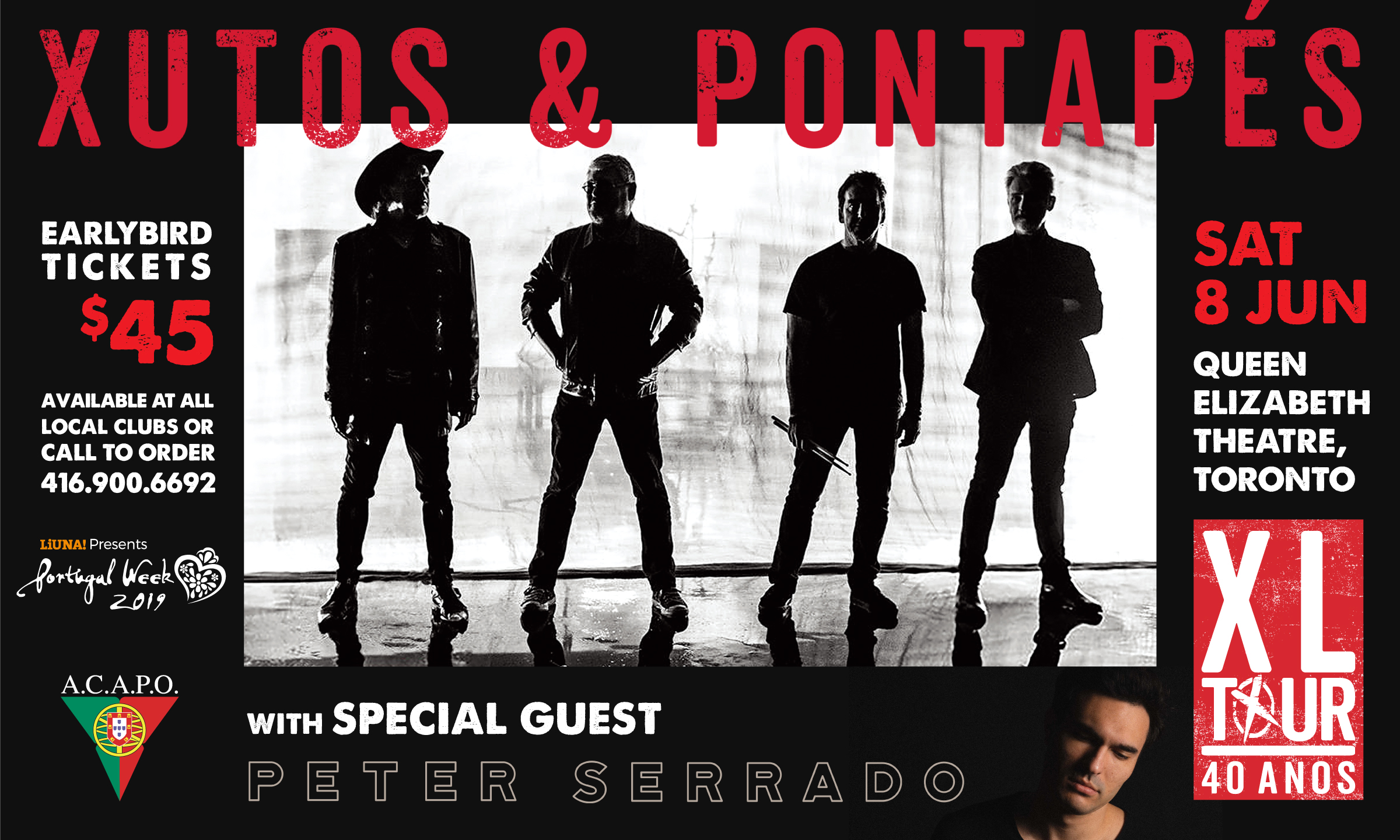 Xutos & Pontapés with Peter Serrado